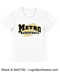 Metro High school Dry-fit shirt Design Zoom